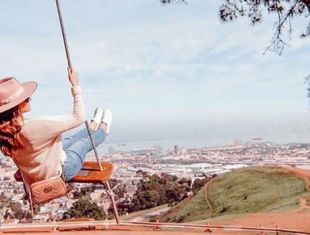 Bernal Heights Swing. Travel Safe