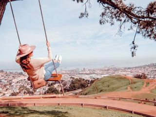 Swing at Bernal Heights.